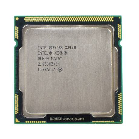 INTEL XEON CPU QC X3470 8M CACHE 2.93 GHZ