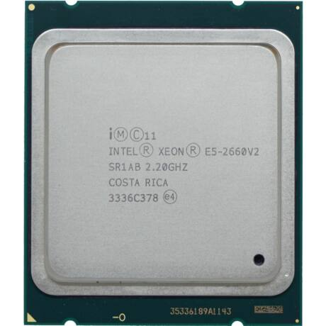 HP INTEL XEON 10 CORE CPU E5-2660V2 25MB 2.20GHZ
