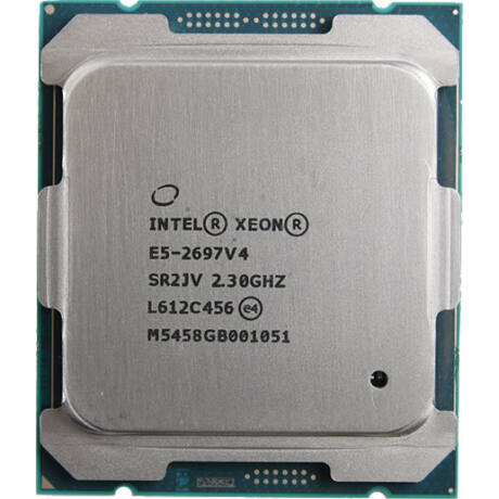 HP INTEL XEON 18 CORE CPU E5-2697V4 45MB 2.30GHZ