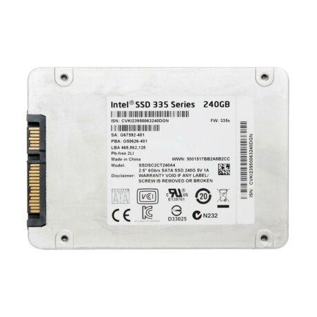 """Intel 335 Series 240GB 6G 2.5"""" SATA SSD Hard Drive"""
