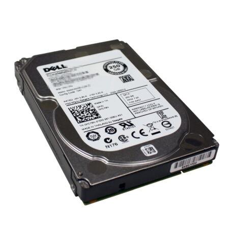 DELL 250GB 7.2K SATA 2.5 INCH 3GBS HDD