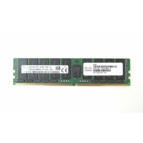 CISCO 32GB (1*32GB) 4RX4 PC4-17000P-L DDR4-2133MHZ MEMORY KIT